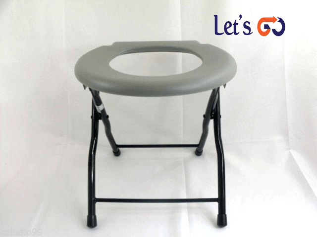 folding-commode-chair-steel-portable-camping-toilet-seat-pounds-capacity-emergency-ready-snap-on-with-lid-for-5-gallon-bucket