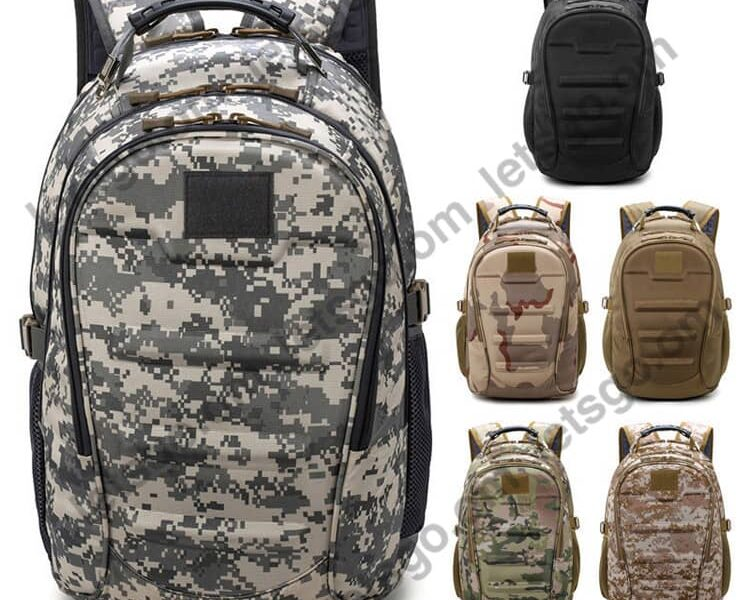 Outdoor Sport Travel Hiking Camping School Army Military Tactical Backpack Molle Bug Out Bag 4