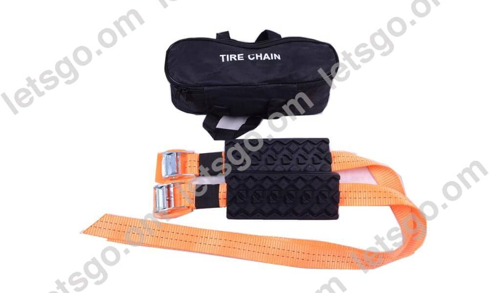 Rubber snow tyre chains anti-skid chain for car for suv for Truck 2